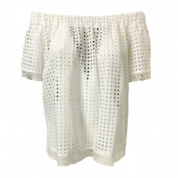 HANITA woman shirt white...