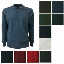FERRANTE polo man 100% wool...