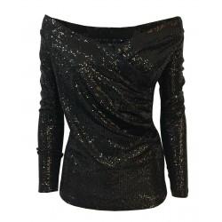 HANITA maglia donna nera...