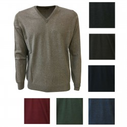 FERRANTE man sweater V-neck...