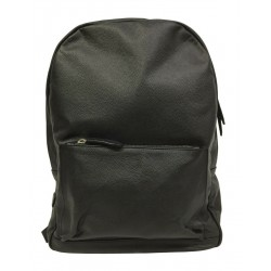 D'AMICO men's black leather...