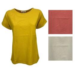 HUMILITY t-shirt woman half...