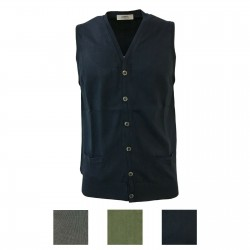 ALPHA STUDIO Man vest with...