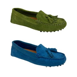 UPPER CLASS woman moccasin...