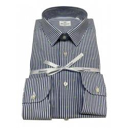 BRANCACCIO man shirt blue...