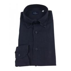 BRANCACCIO blue man shirt...