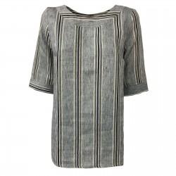 ETiCi woman linen blouse...