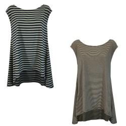 NEIRAMI maxi t-shirt donna...