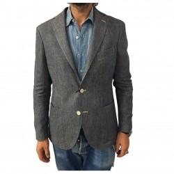 ROYAL ROW giacca uomo lino...