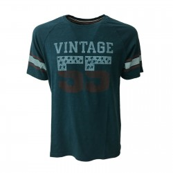 VINTAGE 55 man t-shirt oil...