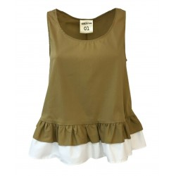 SEMICOUTURE top donna Beige...