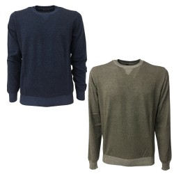 FERRANTE Men's sweater slim...