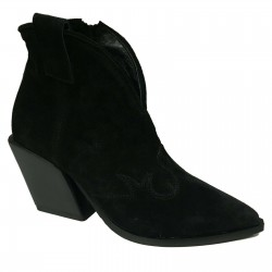 MALLY woman boot black mod...