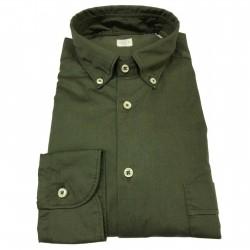 GMF 965 Camicia uomo verde...