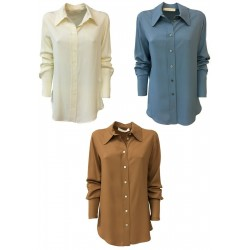TELA woman silk shirt mod...