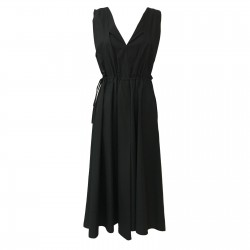 TELA woman dress black mod...