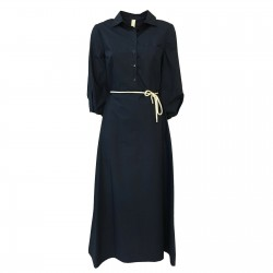 ETICI woman dress blue 3/4...