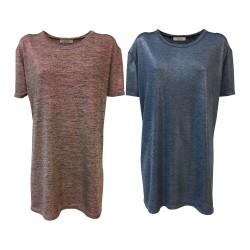 24.25 maxi t-shirt donna...