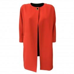 HANITA woman red coat art...